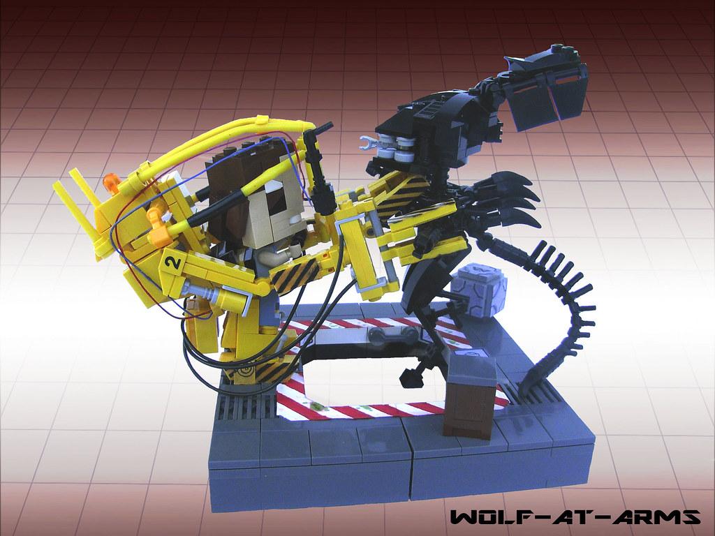 ALIENS_POWER_LOADER_SCENE_LEGO_CUBE