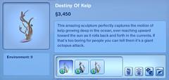Destiny of Kelp