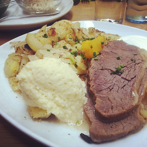 #Tafelspitz #horseradish #wienerwald #lunch #latergram