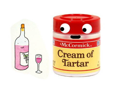 Cream of tartar is from wine!