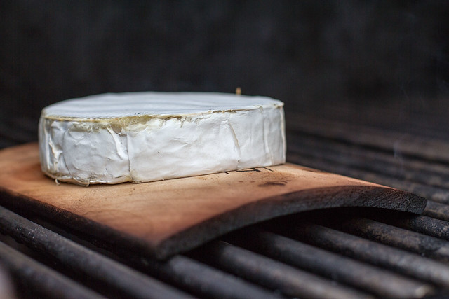 planked camembert