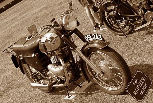 1956 Matchless GII 600cc