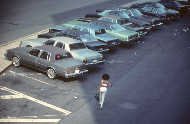 30th Street and Tenth Avenue. Circa 1985. View from the High Line. (Steven Siegal)