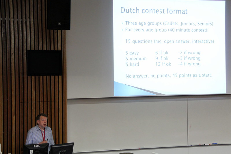 ries kock talks about Dutch education and scoring