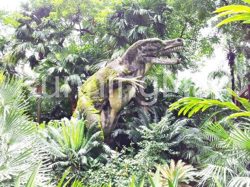 Kandawgyi Palace Hotel 10 - Dinosaur
