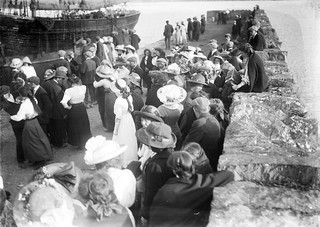 Dancing on a pier during the Kilmakilloge Pattern in Co. Kerry
