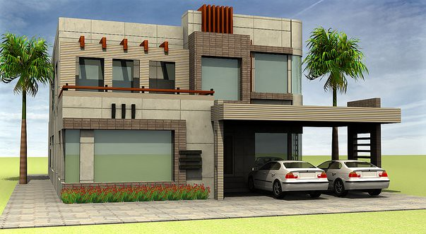 Pakistani house architecture designs skyscrapercity for Beautiful house maps in pakistan