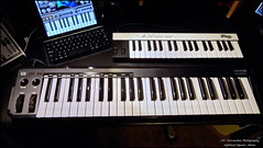 nord electro(0.0), yamaha sy77(0.0), analog synthesizer(0.0), synthesizer(1.0), keyboard player(1.0), oberheim ob-xa(1.0), electronic device(1.0), musical keyboard(1.0), keyboard(1.0), electronic musical instrument(1.0), electronic keyboard(1.0), music workstation(1.0), electric piano(1.0), digital piano(1.0), electronic instrument(1.0),