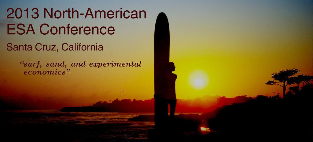 2013 North-American ESA Conference, Santa Cruz CA
