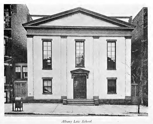 Albany Law School 239 State St. Albany NY  early 1900s