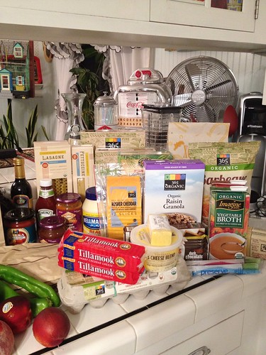 August grocery haul