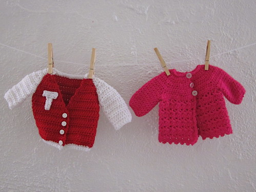 newborn take-home sweaters