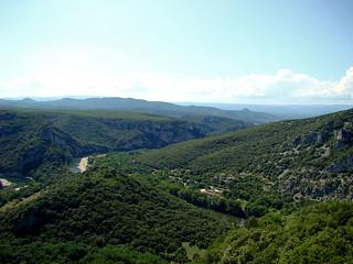 105 Uitzicht bij Serre de Tourre