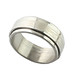 Small photo of Helle Muster Stahl Ring