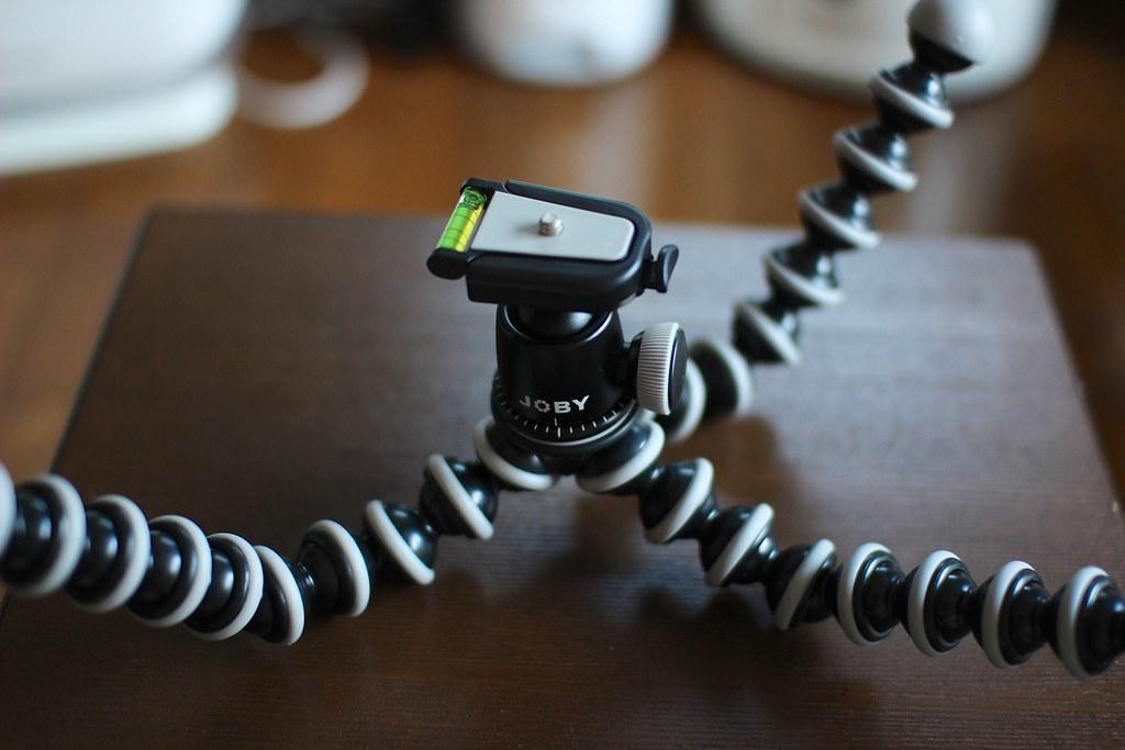 JOBY ゴリラポッド SLR-ZOOM + 自由雲台