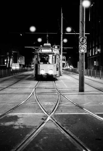 T for tram