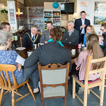 Lord Mayor visits The Dock Cafe