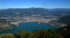 Lanzo d'Intelvi balcone d'Italia, panorama su Lugano e il suo lago - Settembre 2013