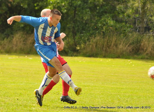 Cliffe FC 5 -  1 Selby Olympia 7Sept13