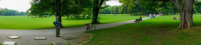 In The Englischer Garten