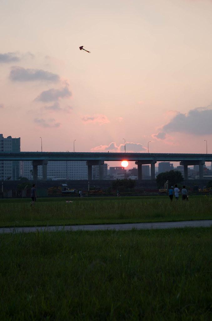 新北大橋附近