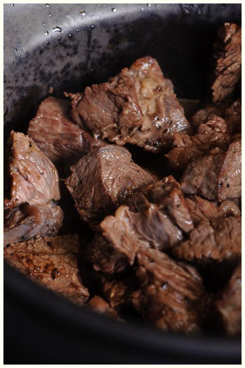 Slow Cooked Beef Stroganoff