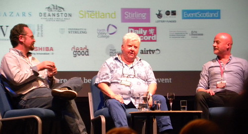 Stuart MacBride, Val McDermid and Craig Robertson