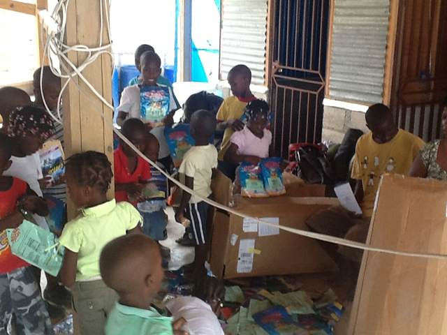 RNRN Helping in Haiti