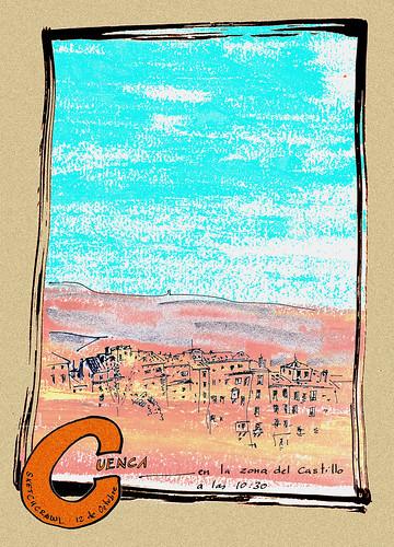 Sketchcrawl en Cuenca