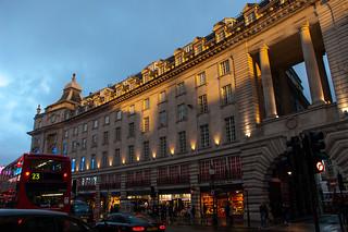 Batiment le long de Regent's Street