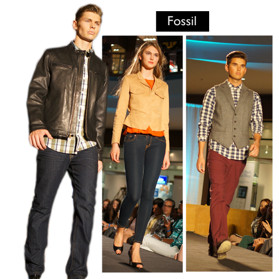 Saint Louis Fashion Week (Fall 2013), Fall into Fashion, Saint Louis Galleria, Fossil c