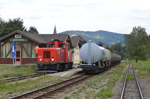 18.09.2013 (XIV); Oostenrijk, dag 19, cargo op de Murtalbahn