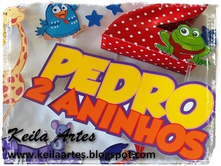 ENEFITE DO BOLO GALINHA PINTADINHA by KEILARTES