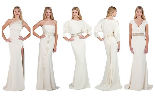 {White Collection} by Badgley Mischka by Nina Renee Designs