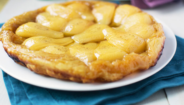 Pear Tart Tatin via LittleFerraroKitchen.com