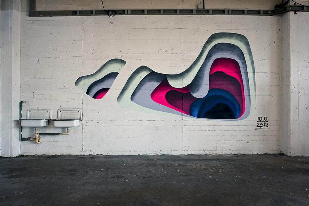 1010 Knoten.13 Street Art Hamburg