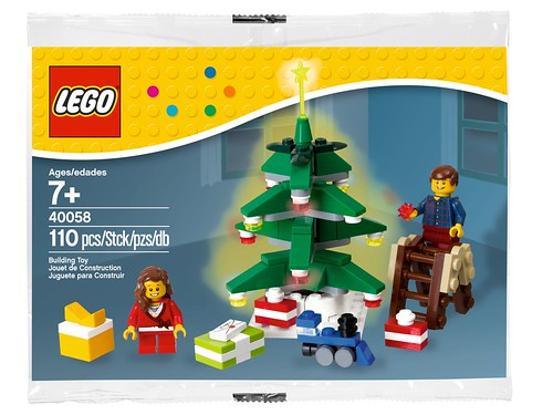 LEGO Seasonal Decorating the Tree (40058)