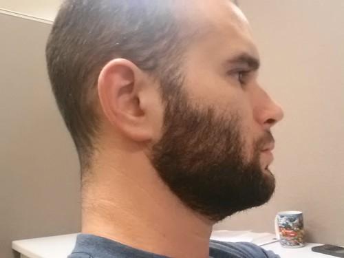 Short Pompadour Drop Fade Haircut