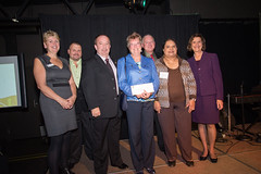 2013 Grant Recipient, Realistic Success Recovery Society, represented by Gary Robinson, Susan Sanderson and staff