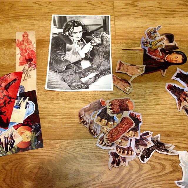 Salvador Dali as inspiration!!! Prepping materials for YOG