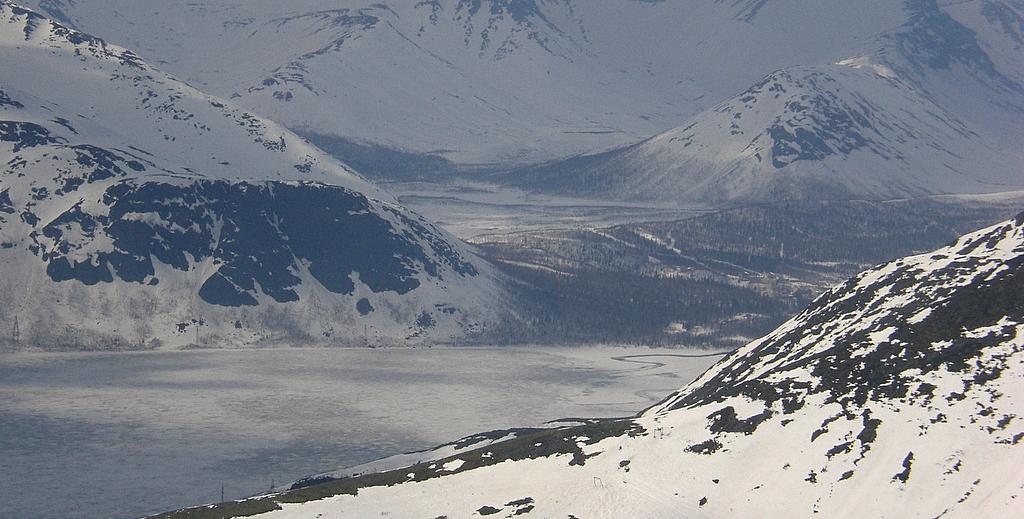 5. Paisaje invernal en las montañas Khibiny, península de Kola. Autor, Acidka
