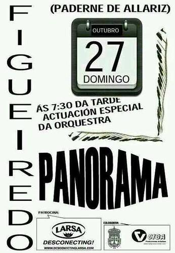 Paderne de Allariz - Actuación Desconecting de Panorama en Figueiredo - cartel