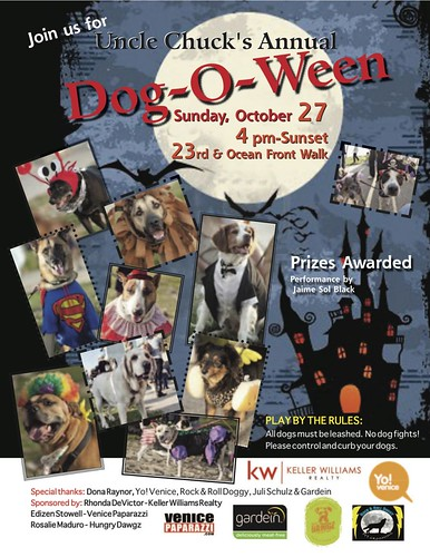 Venice Beach Dog-O-Ween Party