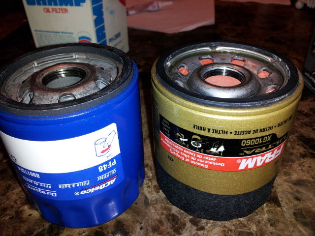 AC Delco PF48 vs Fram Utra XG10060 | Engine Oil Filters | Bob Is The Oil Guy
