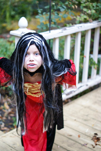 Vivianne, Scary Vampire, Halloween 2013