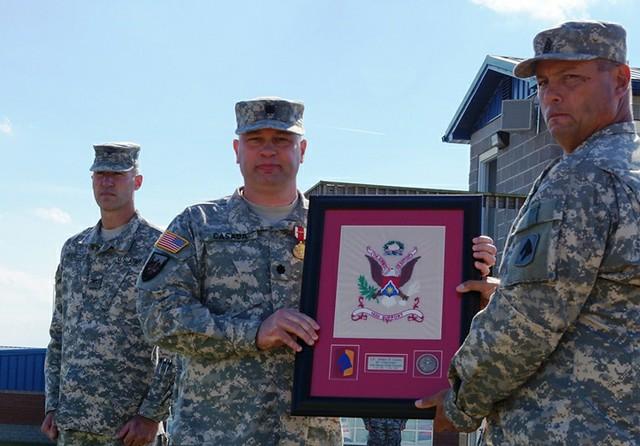 Honoring Col. Casada