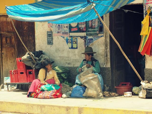 Το παζάρι της Huaraz στο Περού!