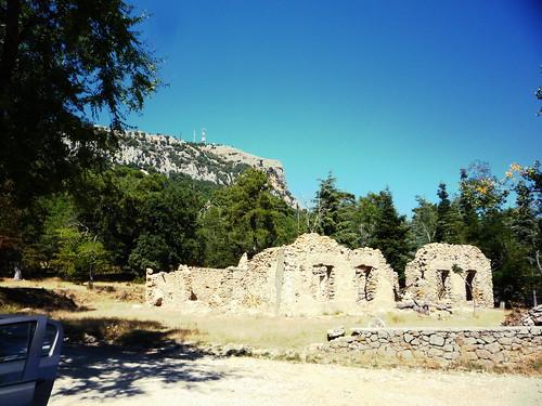 Parkplatz zur Wanderung in die Sierra Segura