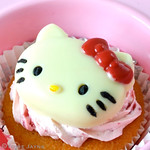 Hello Kitty chocolate decoration