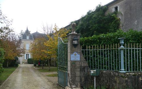Clermont, Landes: château de Sobole, vers 1870.
